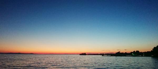 Sonnenuntergang auf Zaton Holiday Resort