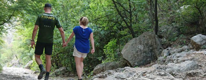Ton & Lucia wandern in Paklenica
