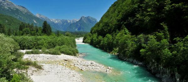 Soča-Tal Slowenien