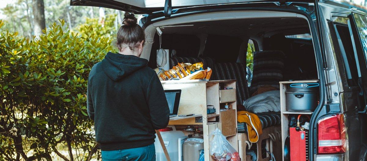 Auto packen