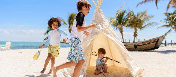Schützt besonders eure Kinder vor der Sonne