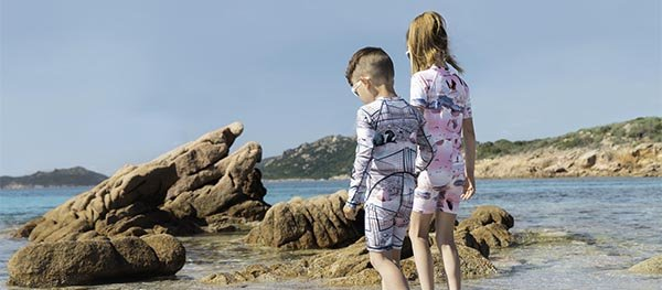 UV-abweisende Kleidung schützt vor bis zu 98 Prozent der UV-Strahlung