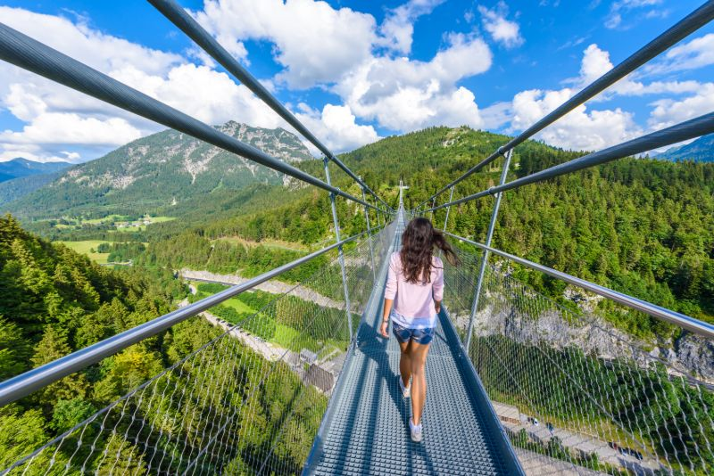 Die highline179 in Reutte