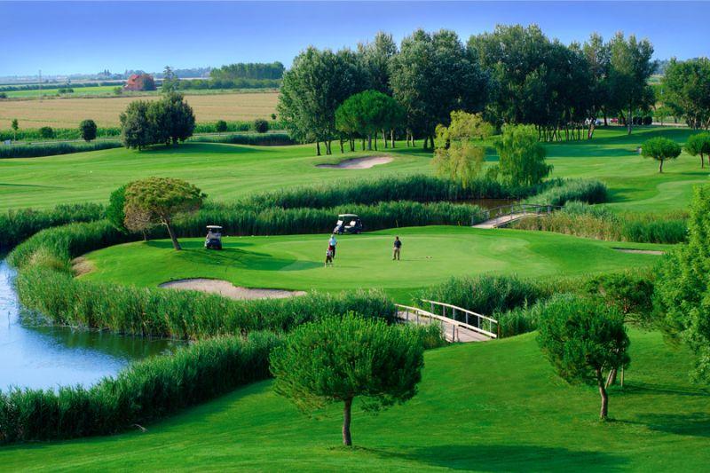 18-Loch-Golfplatzes