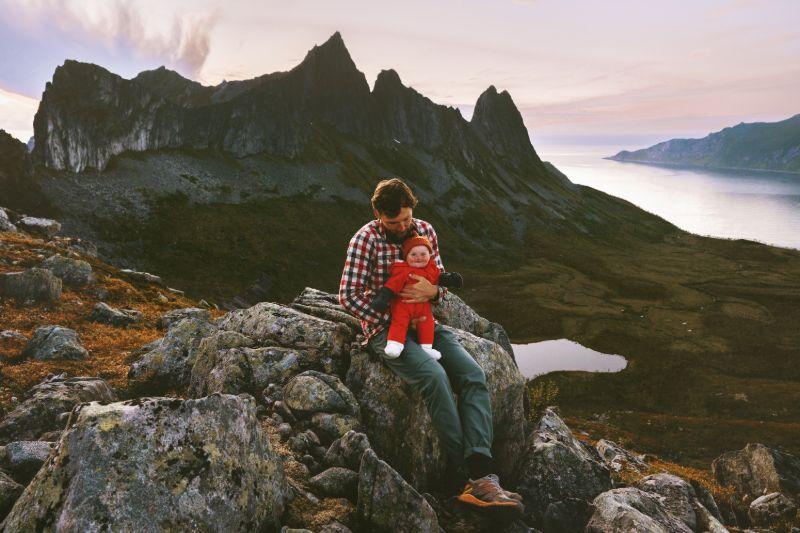 Campen Baby Reiseziel