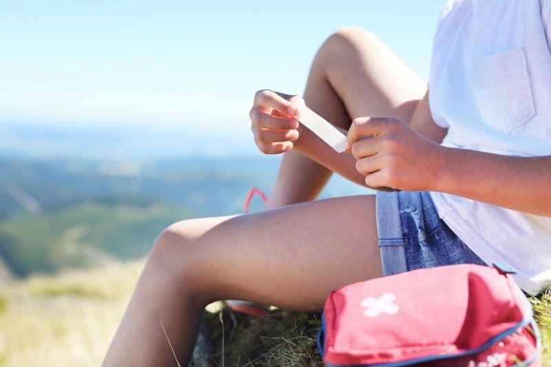 Blasen im Urlaub vermeiden