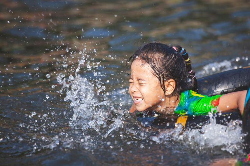 Schwimmring Urlaub Campen