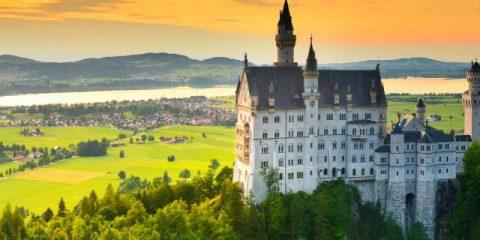 Märchenhafte Schlösser in Deutschland