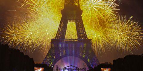 Aktivitäten am 14. Juli in Frankreich