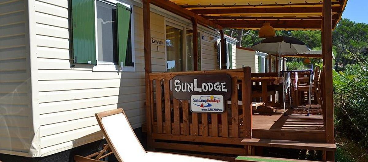 sunlodge aspen sunlodge redwood camping urlaub familie komfort