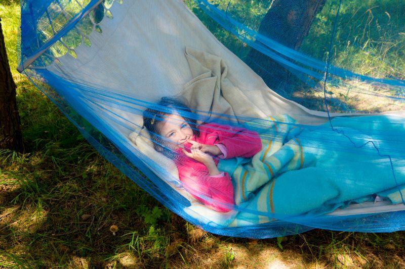 Mosquito Netz Kind Notfall beim Camping